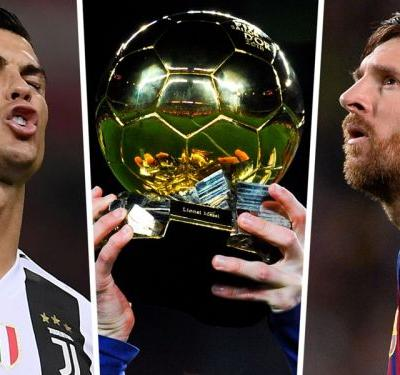 Reports claim no Ronaldo or Messi in Ballon d'Or final three as Cavani backs Varane to win