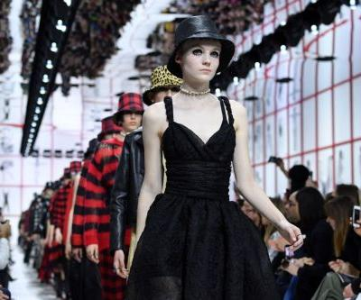 Dior Shows Its Own Version of Hat Hair and Doll Lashes for Fall 2019