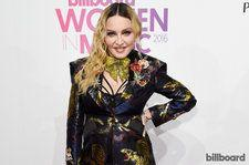 Madonna Says She's Ready to 'Make a Stand & Speak My Mind' After Hillary Clinton Loss on Billboard Women in Music Red Carpet: Watch