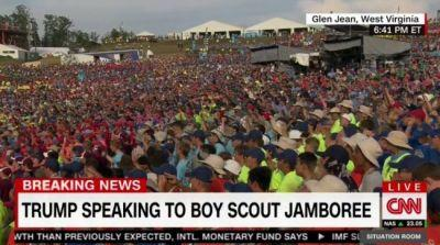 Twitter Has a Field Day with President Trump Addressing the Boy Scouts of America