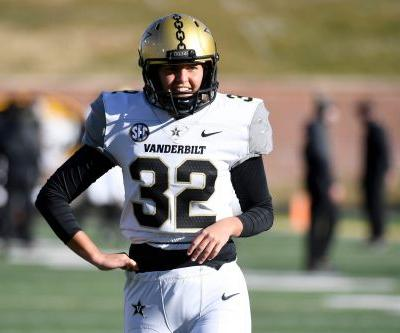 Opinion: History found Vanderbilt kicker Sarah Fuller, and she was perfect for it
