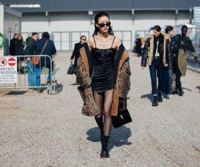 See what the models are wearing off-duty in Milan! Days 3-5