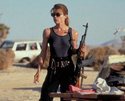Linda Hamilton Will Return to the Terminator Franchise!