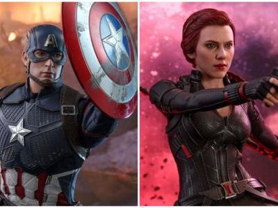 Captain America and Black Widow Endgame Hot Toys Revealed