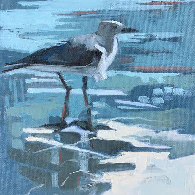 Painting in Series- Gull 4