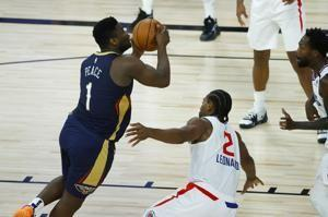 George, Clippers rain 3s on Pelicans in 126-103 blowout