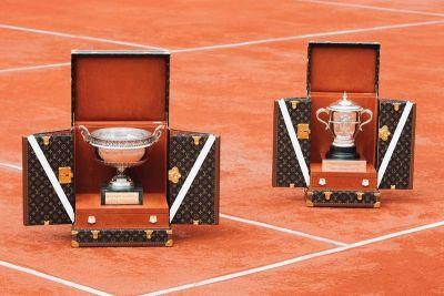 Louis Vuitton Builds Ritzy Trunks To House the 2017 French Open Trophies