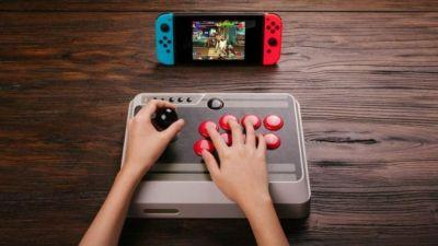 8Bitdo's NES30 Arcade Stick is a Must-Buy for Nintendo Switch Owners