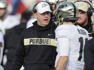 Brohm on rumors: Purdue 'is where I want to be'