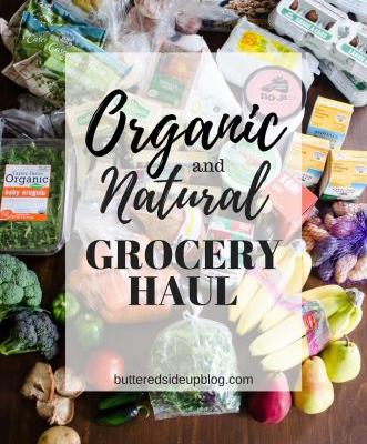 Organic/Natural Grocery Haul 1