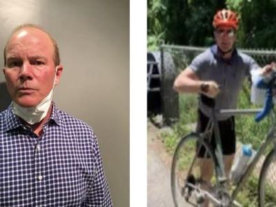 Arrested And Fired! Cyclist Who Attacked Teens Putting Up Signs About George Floyd Is Charged