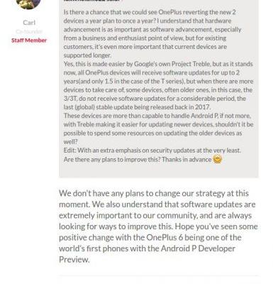 OnePlus 6T Is Coming, OnePlus Sticking To Its Release Cycle