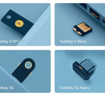 Yubico's new security keys now support FIDO2