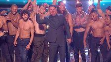 Channing Tatum Stops The Show On 'Britain's Got Talent' Finale