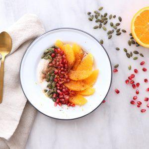 HOLIDAY CITRUS YOGURT BOWL