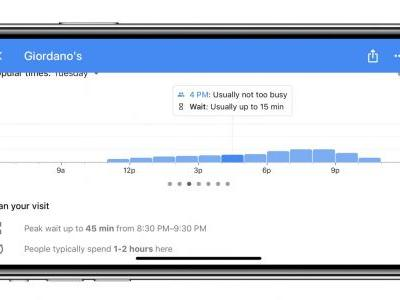 Google Maps for iOS adds restaurant wait times, additional transit details, more