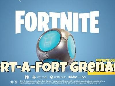 Fortnite Port-a-Fort Grenade Guide: How to Get It & Use It in Patch 3.5