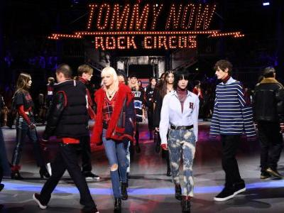 Tommy Hilfiger and Gigi Hadid Bring Their Fall 2017 'Rock Circus' - and The Chainsmokers - to London