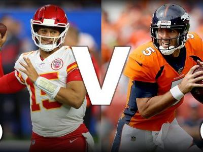 What channel is Chiefs vs. Broncos on today? Schedule, time for Thursday night game