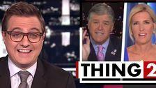 MSNBC's Chris Hayes Taunts Sean Hannity, Laura Ingraham: 'Shameless Toadies' For Trump