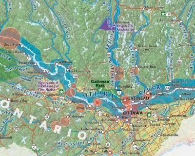 "Mapping the Ottawa River, the ""original Trans-Canada Highway"""
