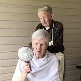 This Elderly Couple's At-Home Hair-Salon Video Is the Wholesome Content We All Need