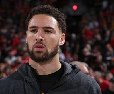 The moment Klay Thompson realizes he just lost $30 million