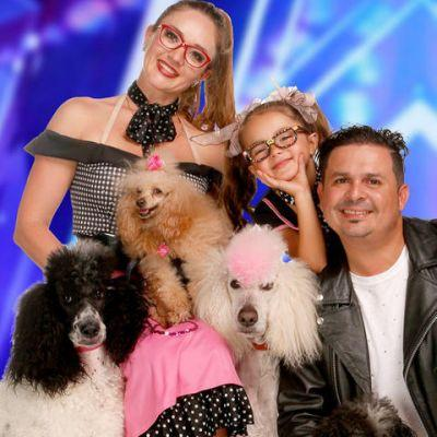 The Pompeyo Family Dogs Performed Safari Act On America's Got Talent To Katy Perry's 'Eye Of The Tiger'