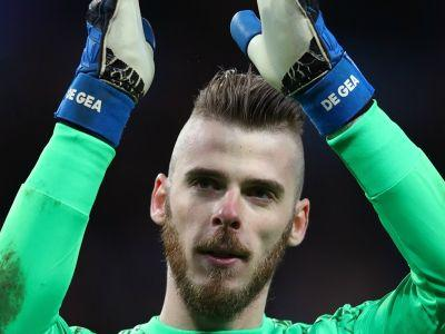Real Madrid 1 Manchester United 1 : De Gea proves his worth to Mourinho