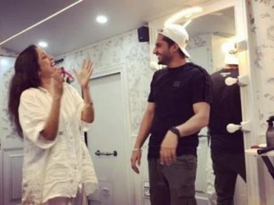 Neena Gupta kills it on dance floor with Jassie Gill in viral video. Monday blues, come next week