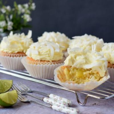 Coconut & Lime Cupcakes