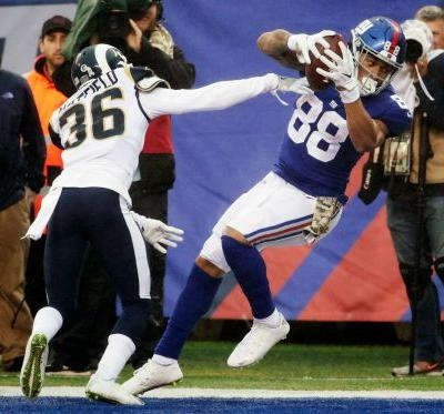 McAdoo insists Giants didn't quit in loss to Rams