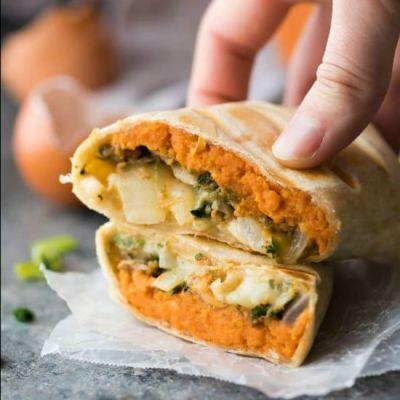 Southwestern Sweet Potato Burritos