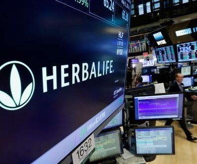 Herbalife stock takes a dive after CEO resigns