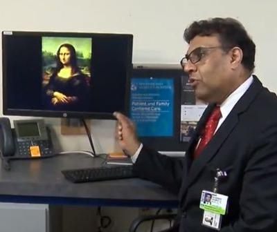 Doctor says Mona Lisa was not well when she posed for famous painting