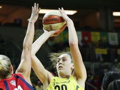 Storm put it in cruise control to beat Mystics in Game 1 of WNBA Finals