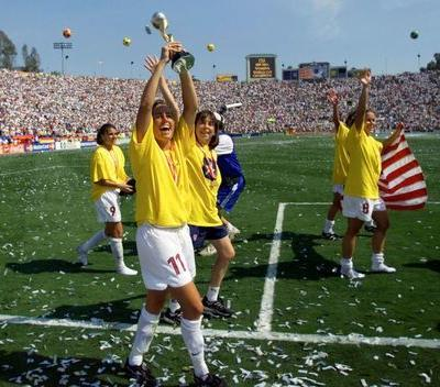 Soccer: U.S. '99 World Cup win should have done more for women's game - Foudy