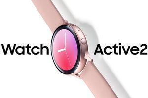 Another press render for the Samsung Galaxy Watch Active 2 surfaces