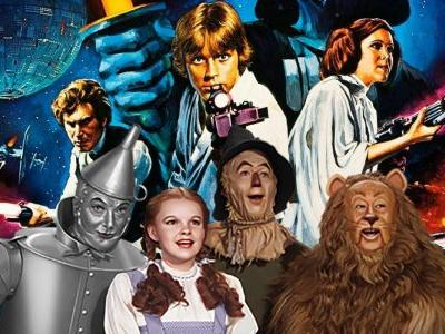 Study Names Wizard of Oz Most Influential Film, Topping Star Wars