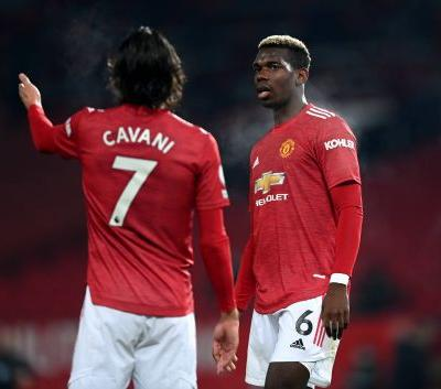 Paul Pogba wants Edinson Cavani to remain another season with Manchester United