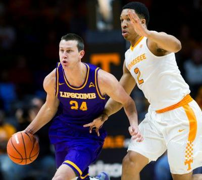 No. 24 Tennessee beats Lipscomb 81-71 for 4th straight win