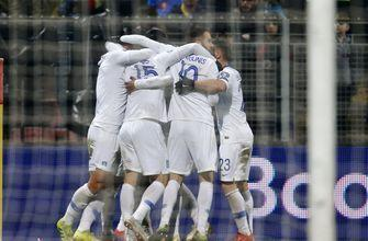 Quagliarella sets Italy's mark in 6-0 win over Liechtenstein