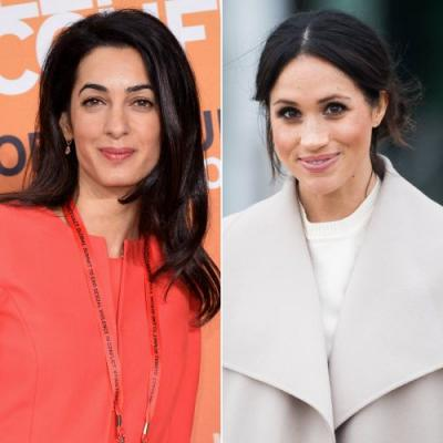 Amal Clooney Is Helping Meghan Markle Settle Into London, and We Love This Friendship So Much