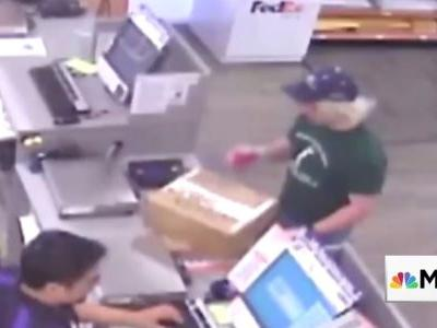 Police caught the suspected Austin bomber after they saw store footage of him sending a package bomb at FedEx