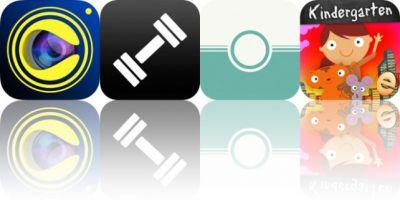 Today's Apps Gone Free: Camorify, Gym Guide, Feelca Tungsten and More