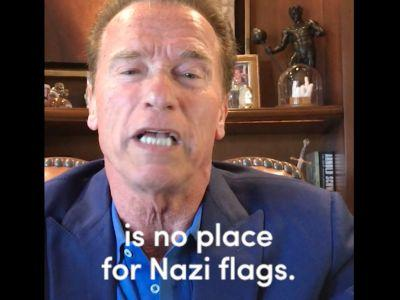 Arnold Schwarzenegger calls on Trump to publicly reject the support of white supremacists: 'You have a moral responsibility'