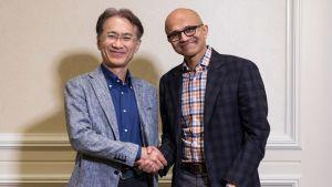 Microsoft and Sony Partner up in Pursuit of Cloud-Based Gaming Solutions