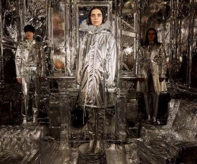 Margiela covered an entire pub in tinfoil for its MM6 presentation