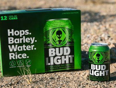 Bud Light's New Alien-Themed Area 51 Cans Are Totally Out Of This World
