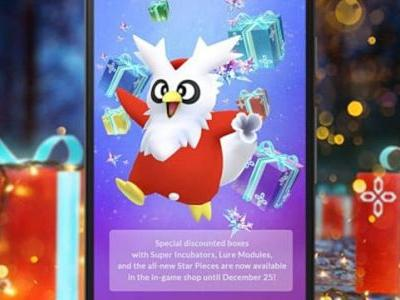 Pokemon GO Adds Three New Boxes Just For The Holidays